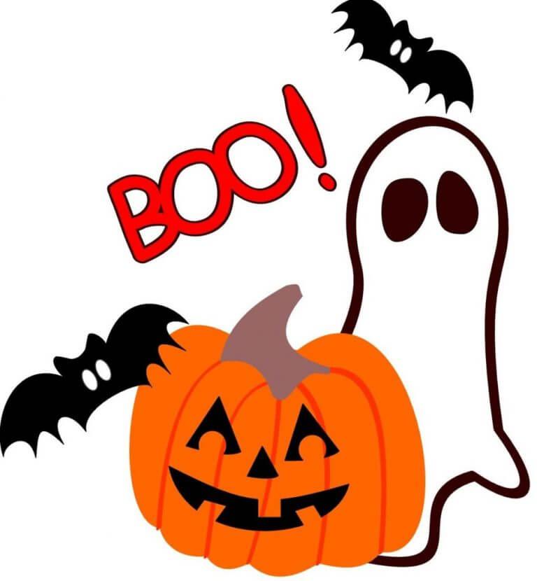 Free Halloween clip art borders