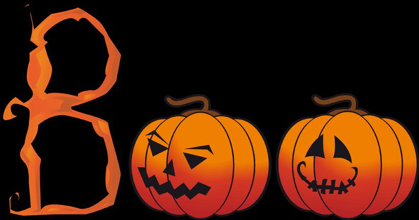 Halloween 2017 pumpkin cliparts