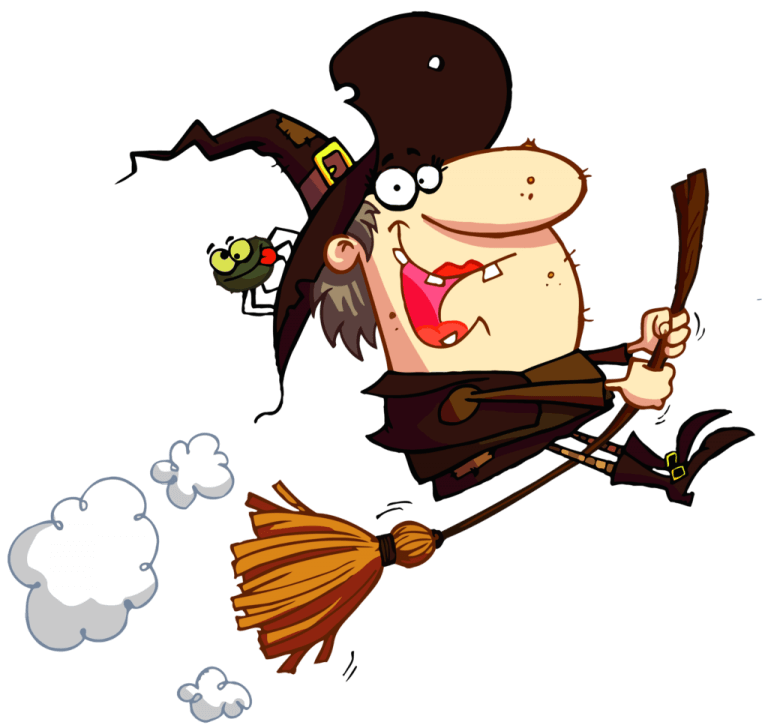 Halloween Funny Witch Clipart
