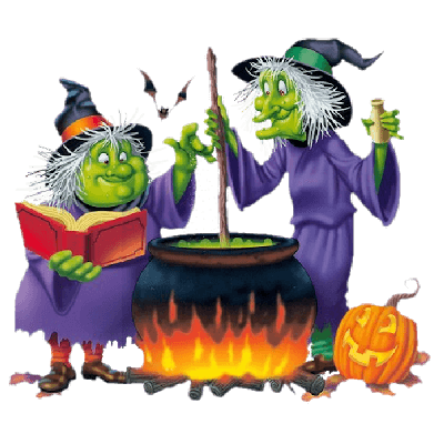 Scary Ghost Halloween Clipart