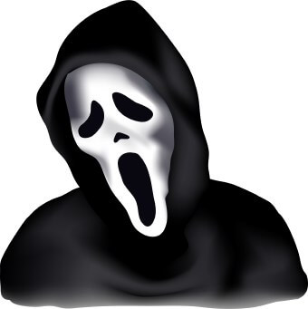 Scary Halloween Clipart images