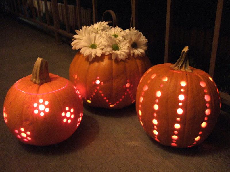 free Halloween pumpkin carving patterns