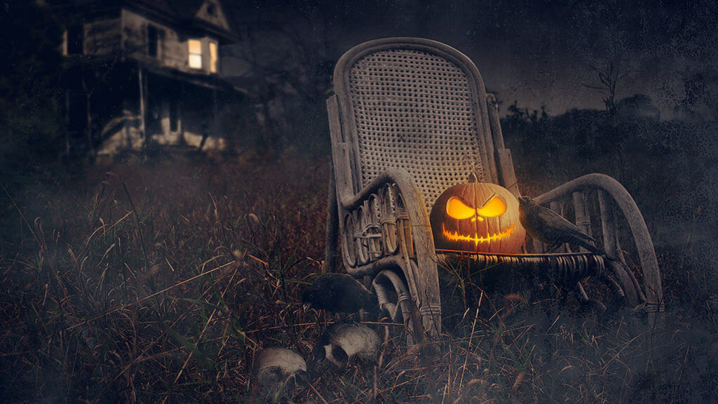 scary Halloween images 2017