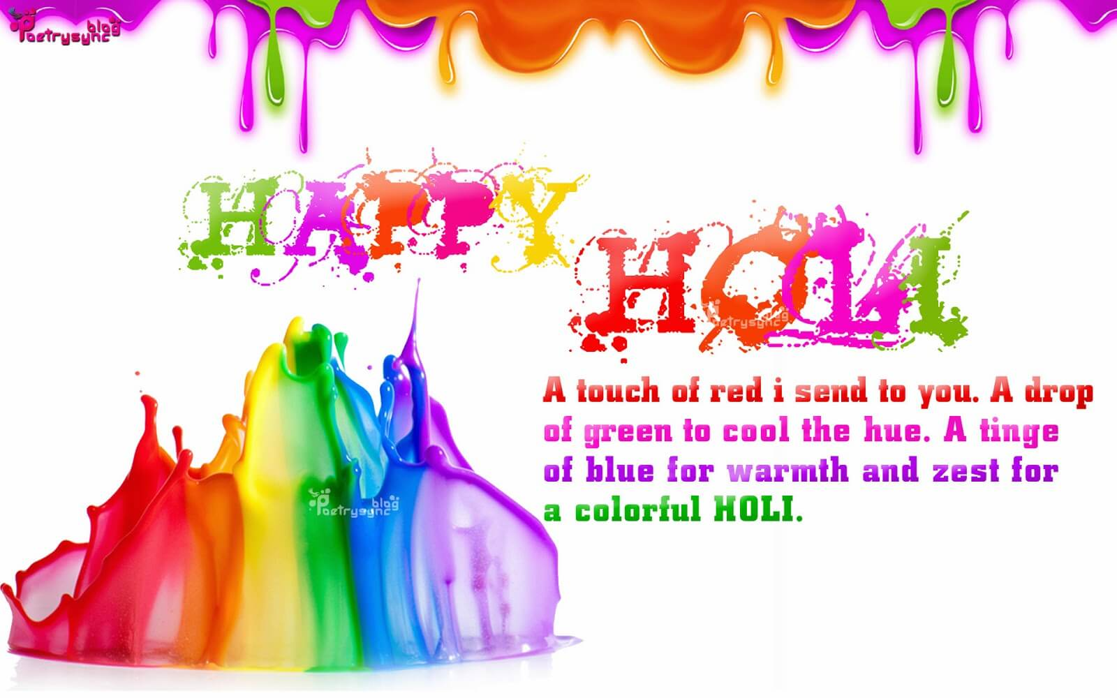 Wishes For Happy Holi