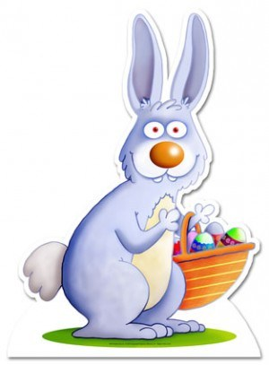 Funny Easter Bunny Clipart Photos