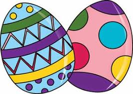 Funny Easter Eggs Clipart