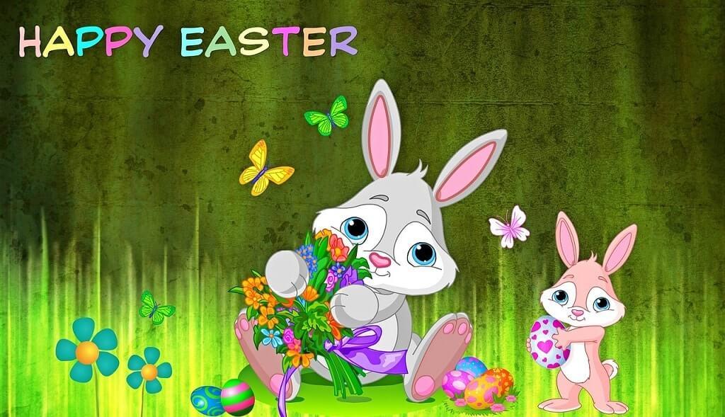 Happy Easter Bunny Photos