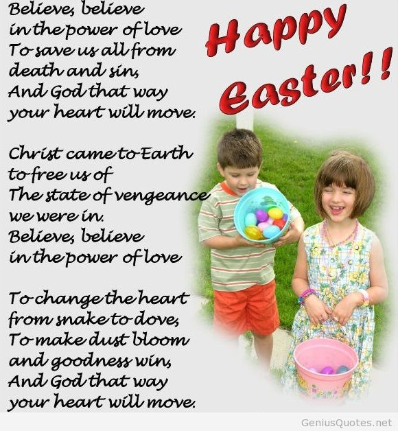 Happy Easter Speeches For Children