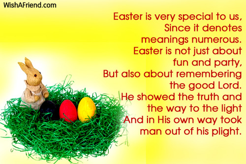 Happy Easter Speeches on Facebook