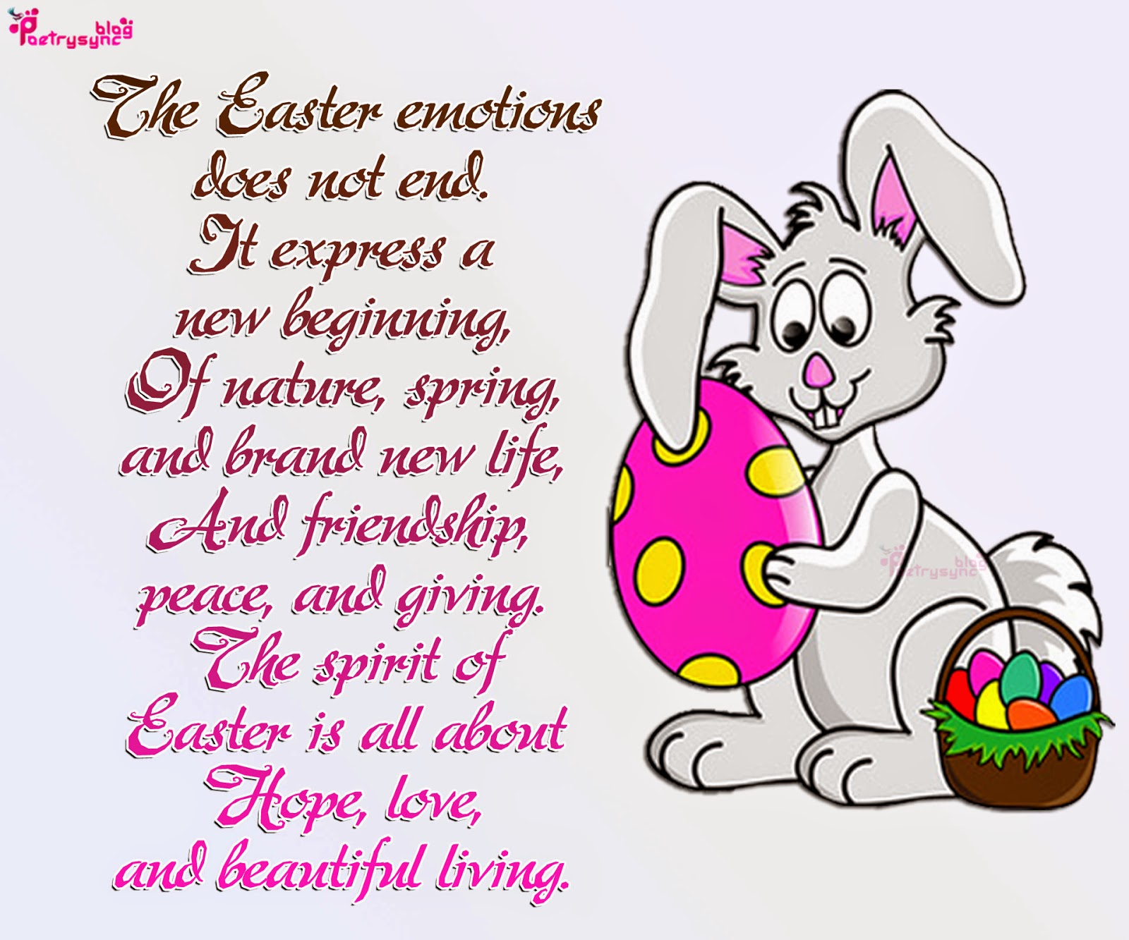 Happy Easter Speeches - Easter Bunny Quotes Sayings Wishes Messages Bible Verses Poems Prayers Speeches