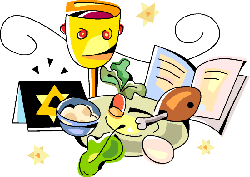 Passover Clipart Banner