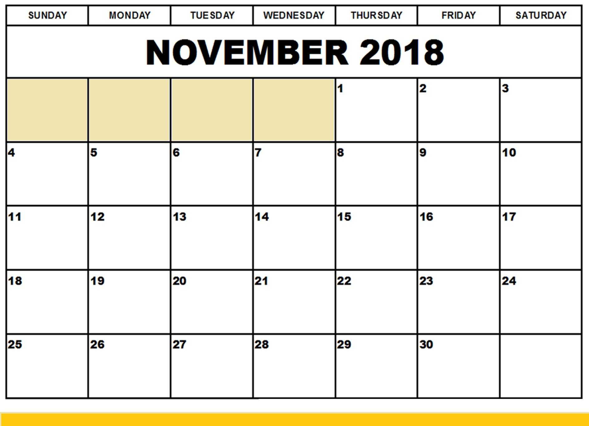 graphic regarding Printable November Calendar called November 2018 Calendar Printable Templates Absolutely free Obtain