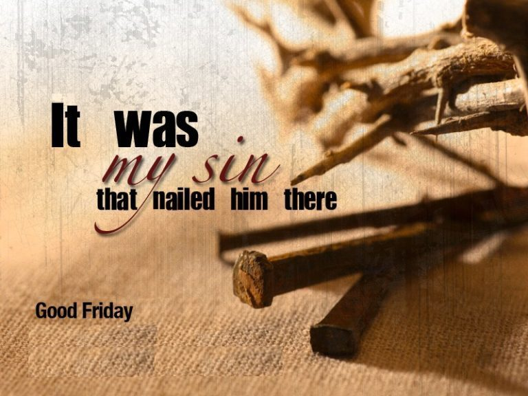 Good Friday Greetings Msg