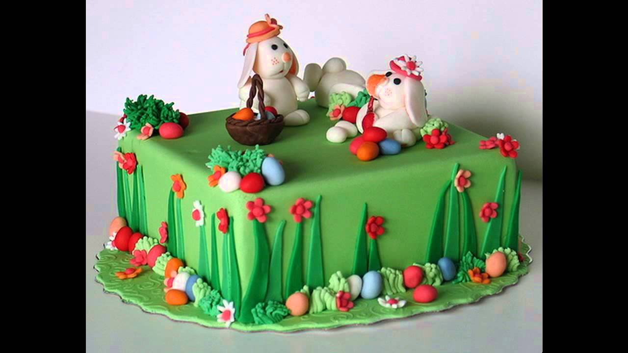 Simple Easter cake decorating ideas
