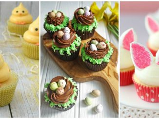 easy easter cupcake designs