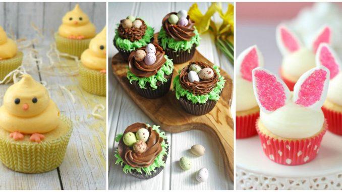 Easy Easter Cupcake Designs