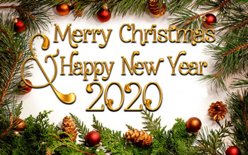 Christmas and New Year 2020
