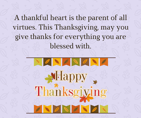 Happy Thanksgiving Messages with Cards