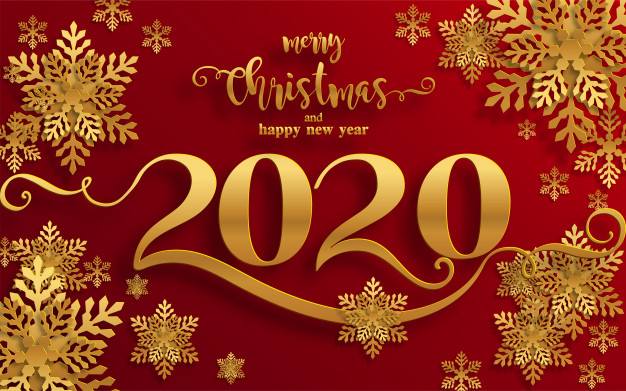 Merry christmas and happy new year 2020 Pictures