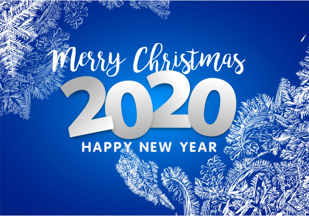 Merry christmas and new year 2020