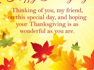 Thanksgiving Day Messages