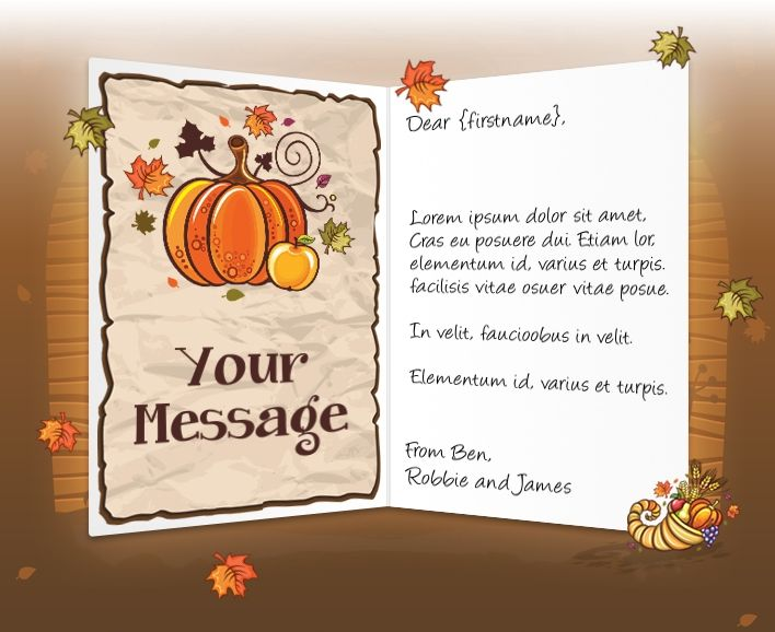 Thanksgiving Messages To Business
