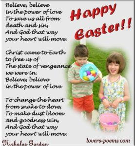Easter Speech For A 4 Year Old